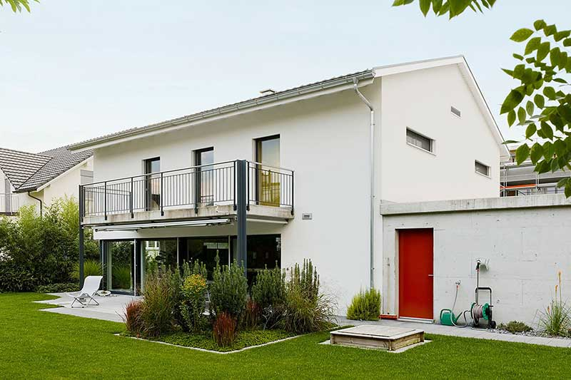 Detached house in barrier-free design
